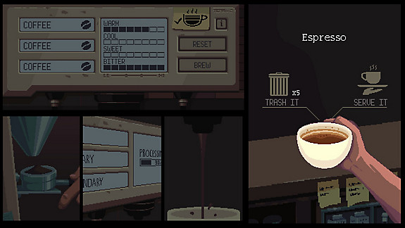 Coffee Talk - Screenshot INDEX