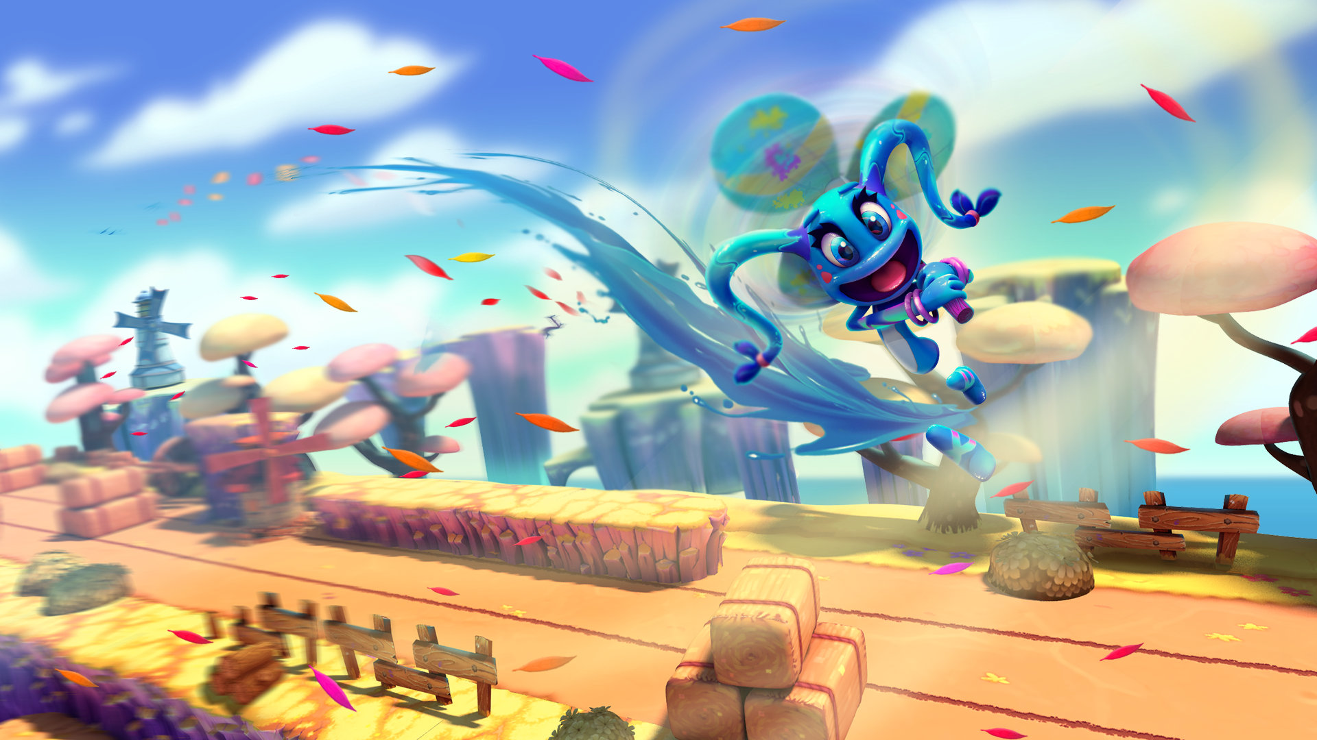 A game color world - Color Guardians Includes
