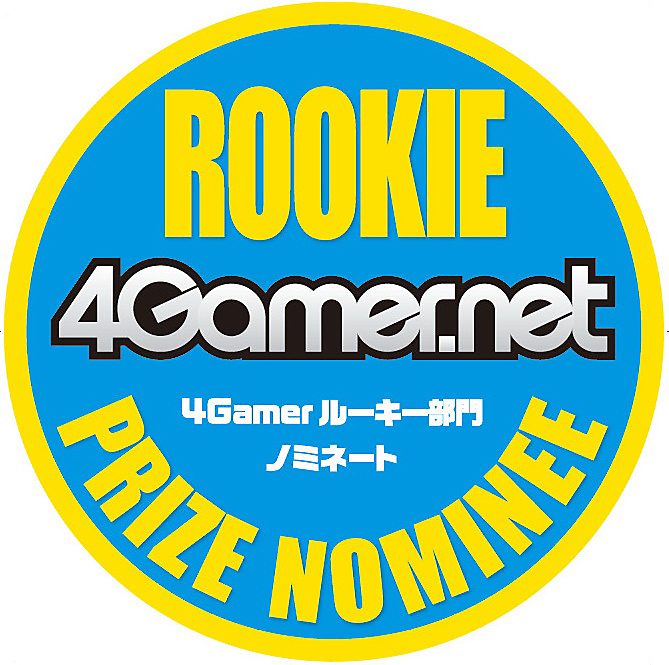 4Gamer.net Rookie Prize Nominee