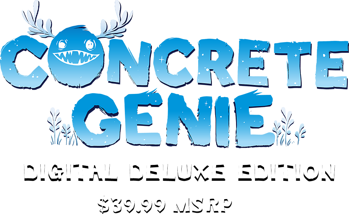 Concrete Genie - Digital Deluxe Edition Logo