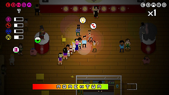 Conga Master Go! - Screenshot INDEX