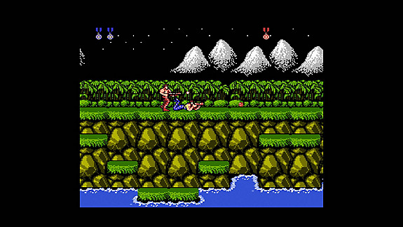 Contra Anniversary Collection - Screenshot INDEX