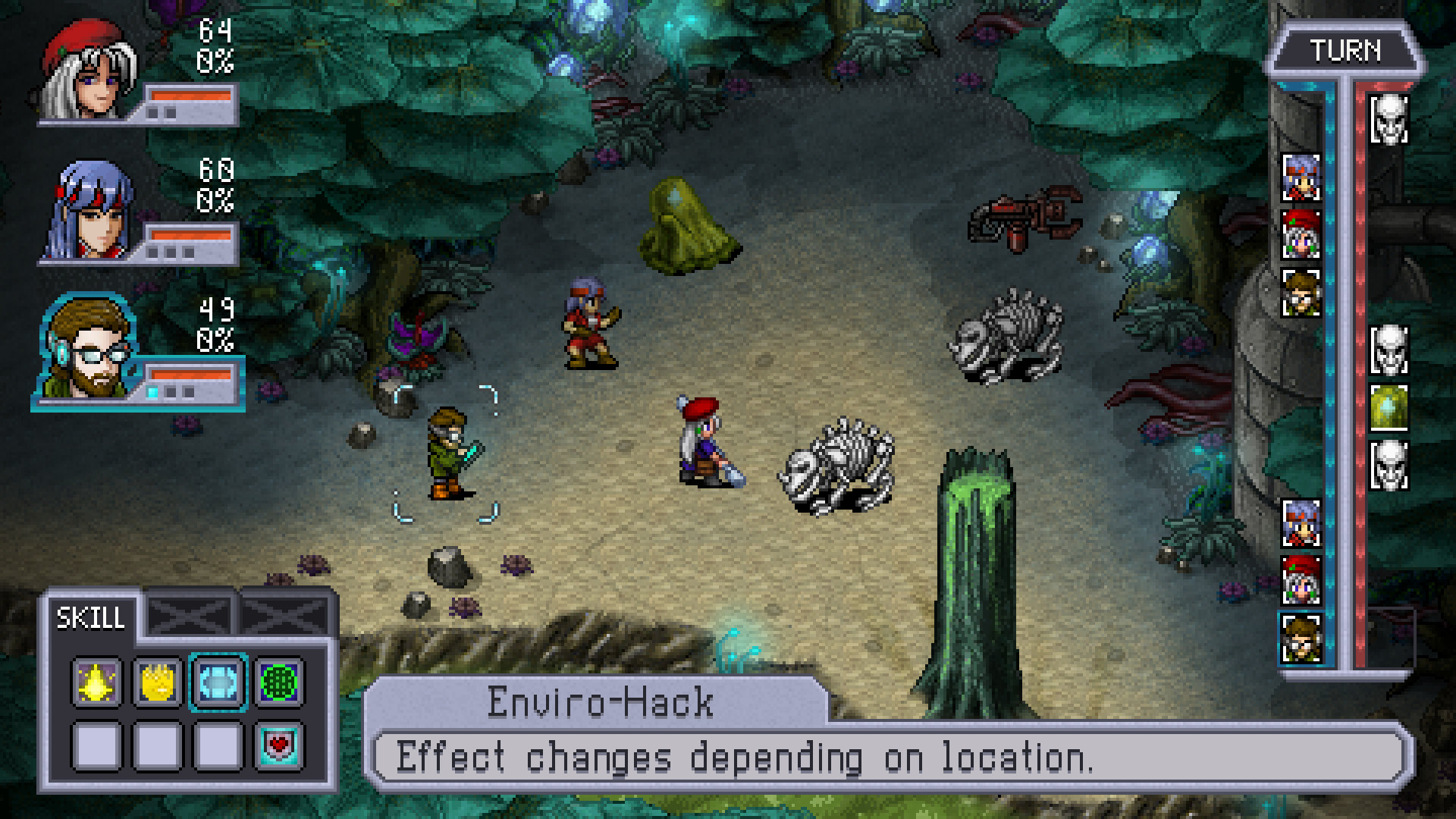 Cosmic Star Heroine - Hack the planet