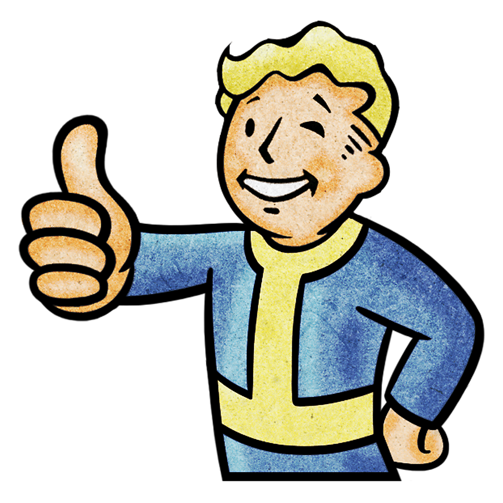 "Vault Boy ""Thumbs Up"" Avatar"