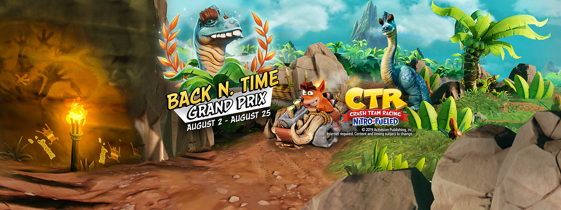 Crash Team Racing Nitro-Fueled - Back N. Time Grand Prix