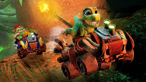 Crash™ Team Racing Nitro-Fueled | Back N. Time Grand Prix - Screenshot INDEX