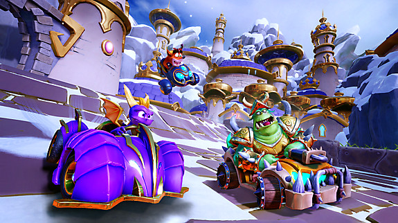 Crash™ Team Racing Nitro-Fueled | Spyro & Friends Grand Prix - Screenshot INDEX