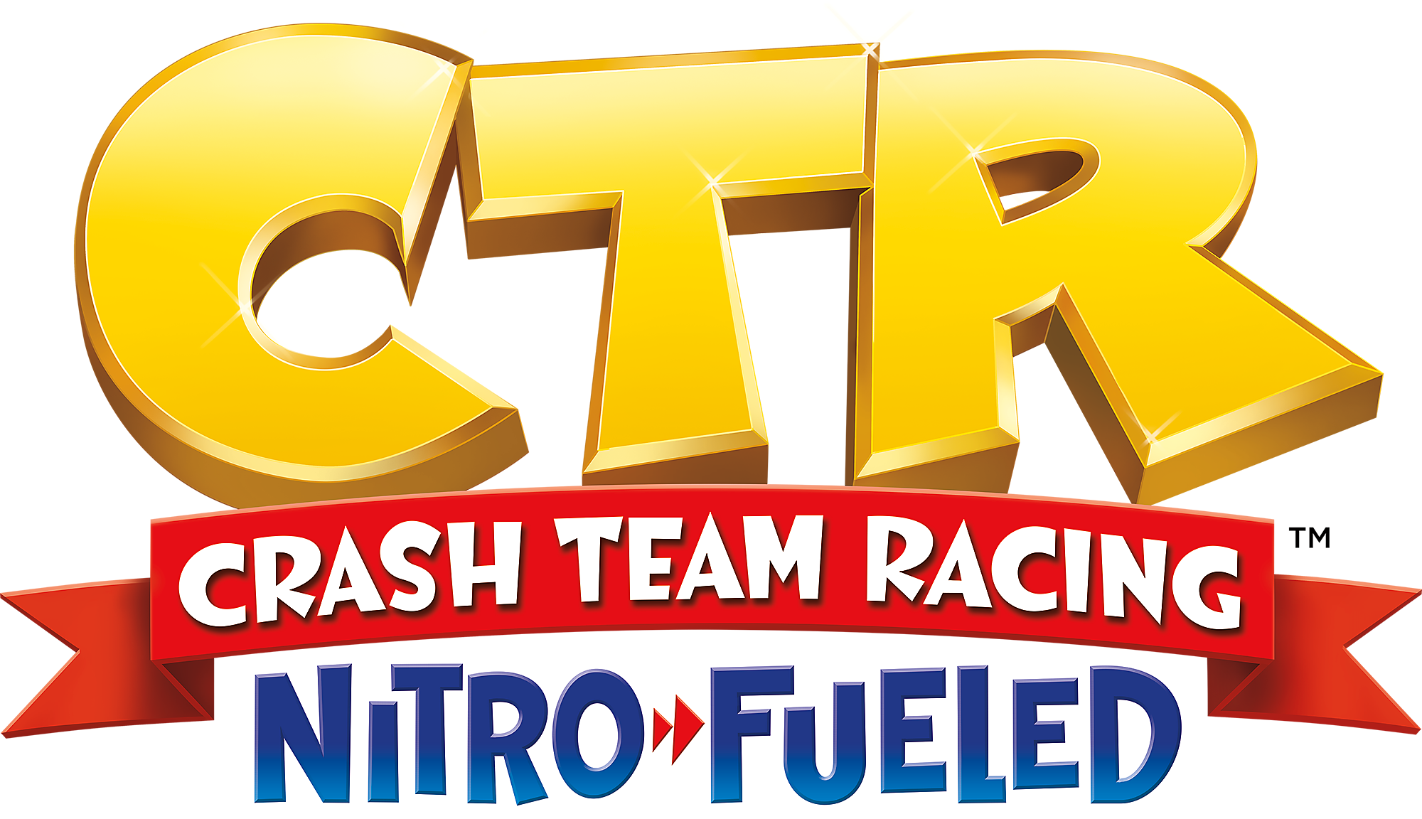 Logotipo de Crash Team Racing Nitro-Fueled