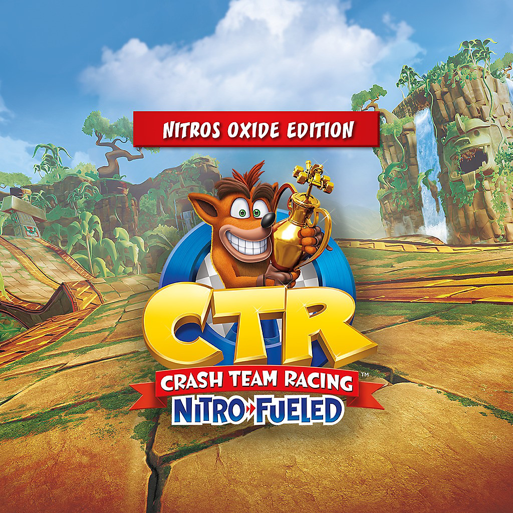 Crash Team Racing Nitro-Fueled Nitros Oxide Game Edition