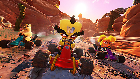 Crash™ Team Racing Nitro-Fueled - Screenshot INDEX