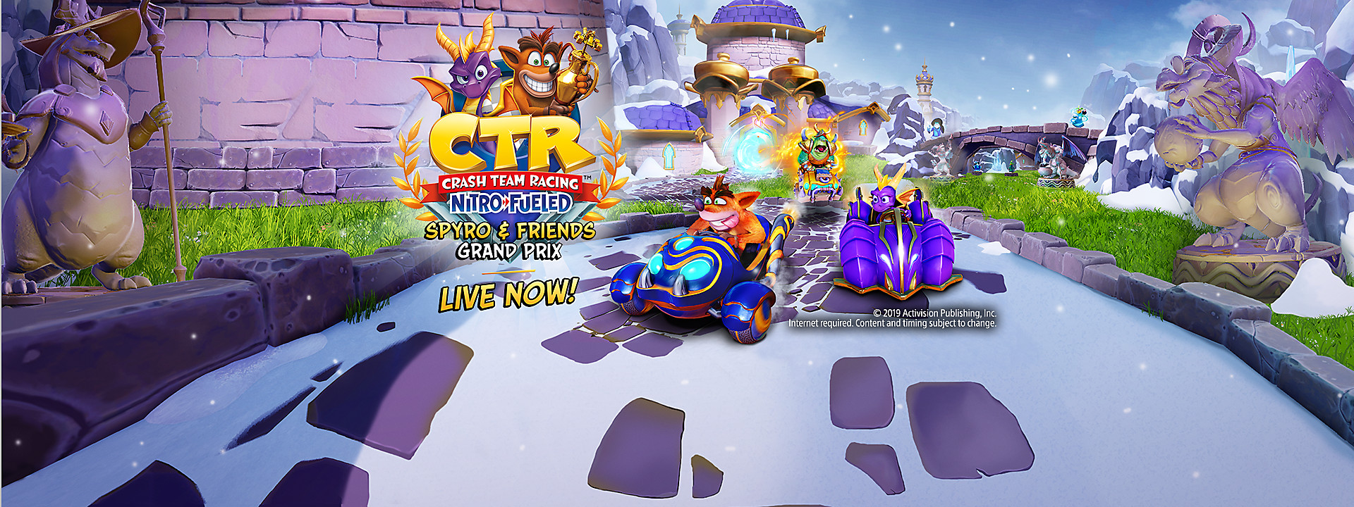 Crash Team Racing Nitro-Fueled - Spyro & Friends Grand Prix Now Available