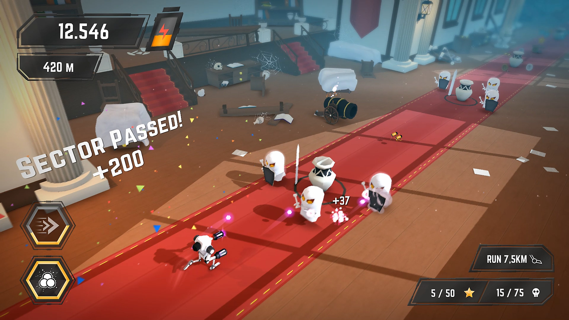 Gameplay de Crashbots