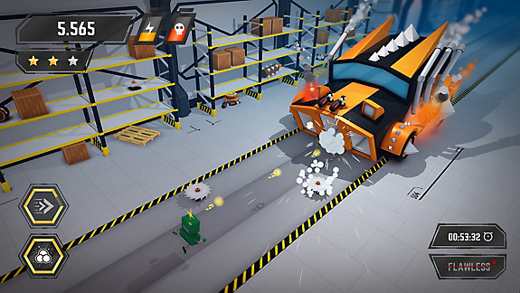 Crashbots - Screenshot INDEX