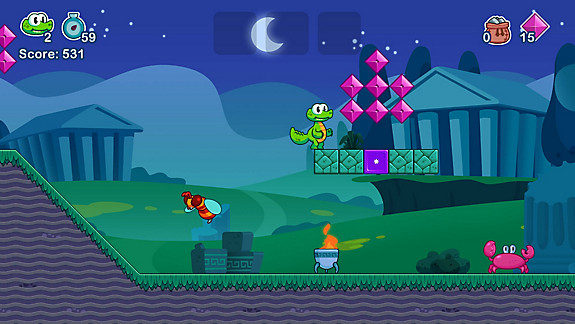 Croc's World 2 - Screenshot INDEX