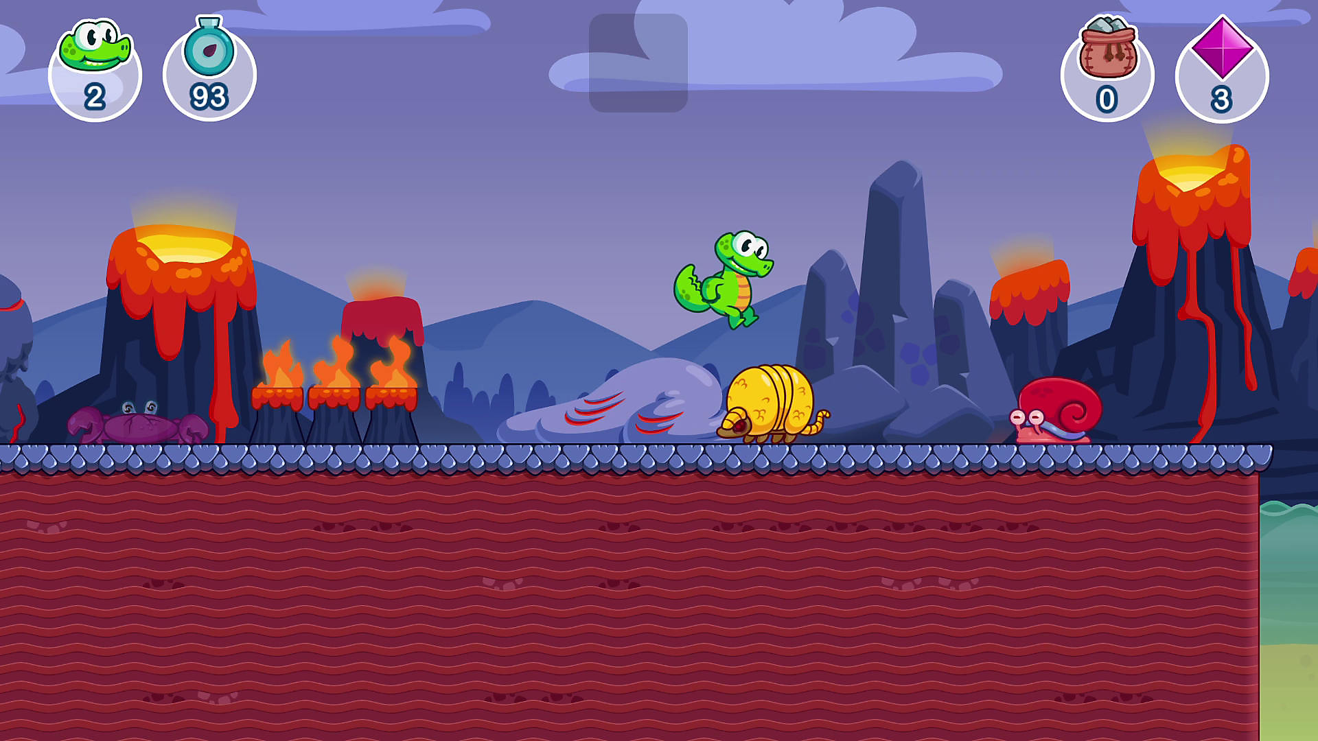 Croc's World 3 en acción
