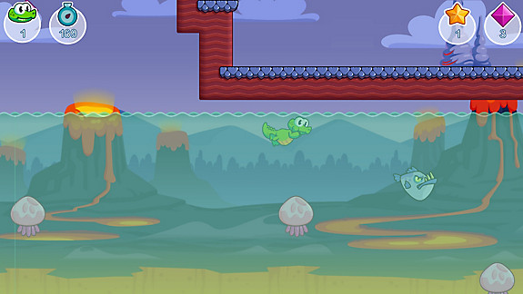 Croc's World Run - Screenshot INDEX