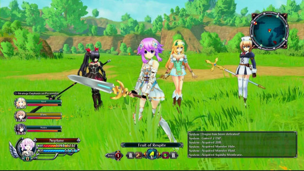 Cyberdimension Neptunia: 4 Goddesses Online Screenshot 1