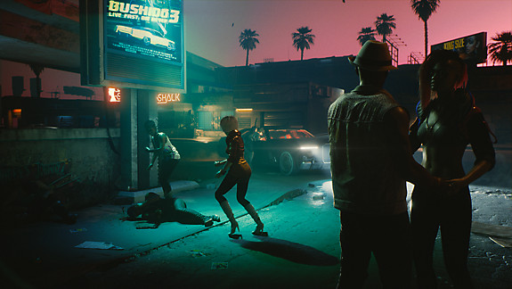 Cyberpunk 2077 - Screenshot INDEX