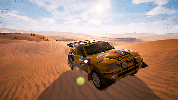 Dakar 18 - Screenshot INDEX