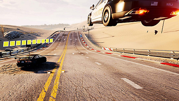 Dangerous Driving - Screenshot INDEX