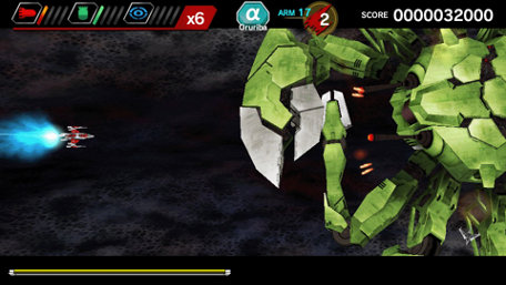 DARIUSBURST Chronicle Saviours Trailer Screenshot
