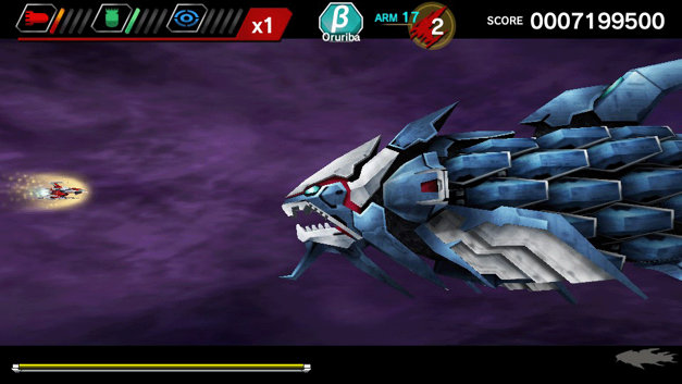 DARIUSBURST Chronicle Saviours Screenshot 10