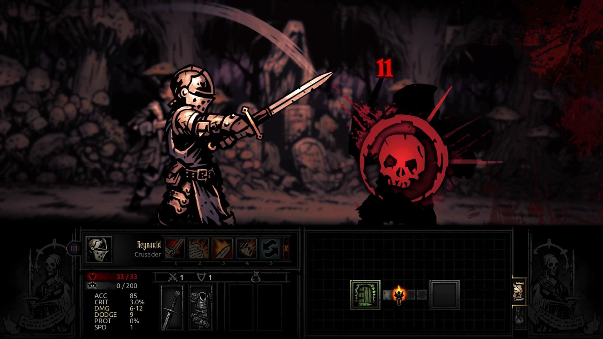 Darkest Dungeon Ancestral Edition en action