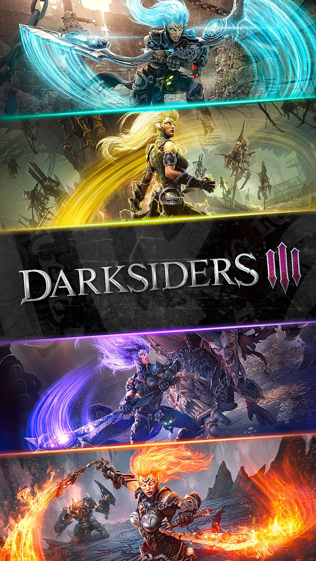 Playstation wallpapers playstation - Darksiders 3 wallpaper ...