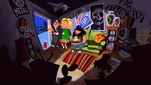 Day of the Tentacle Remastered Screenshot 2