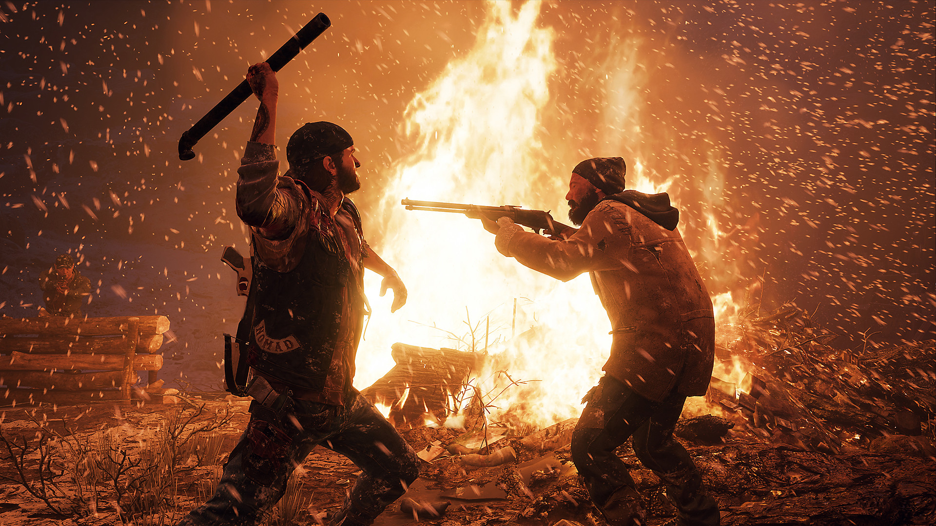 Days Gone Gameplay Screen 3 - Sandbox Combat