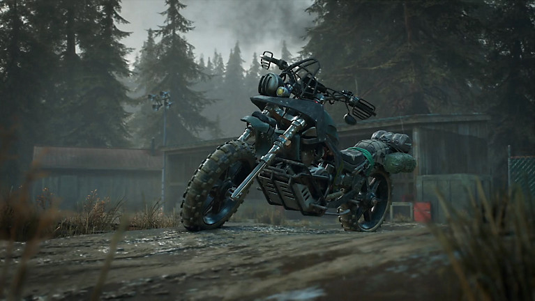 Beauty video of Deacon's bike in Days Gone