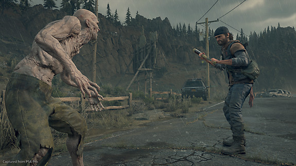 Days Gone - Deacon facing a freaker