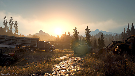 Days gone setting screenshot
