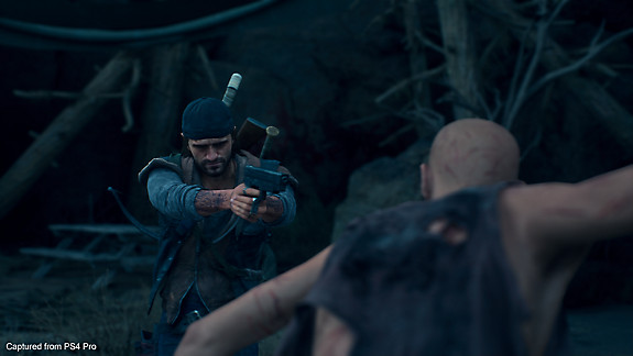 Days Gone - Deacon ready to shoot a freaker