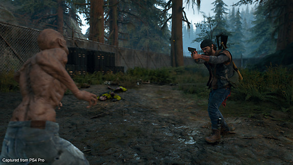 Days Gone - Deacon shooting a freaker