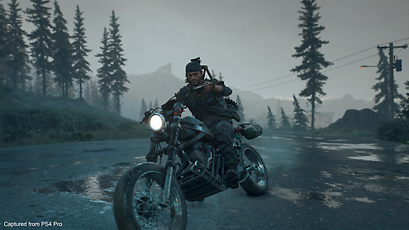 Days Gone - Deacon on his bike