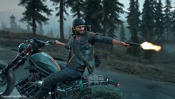 Days Gone - Deacon shooting from his bike