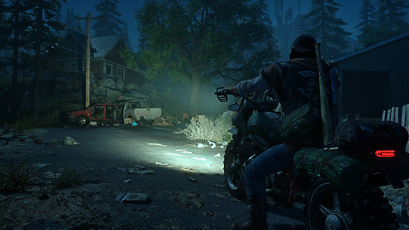 Days Gone - Deacon on his bike at night