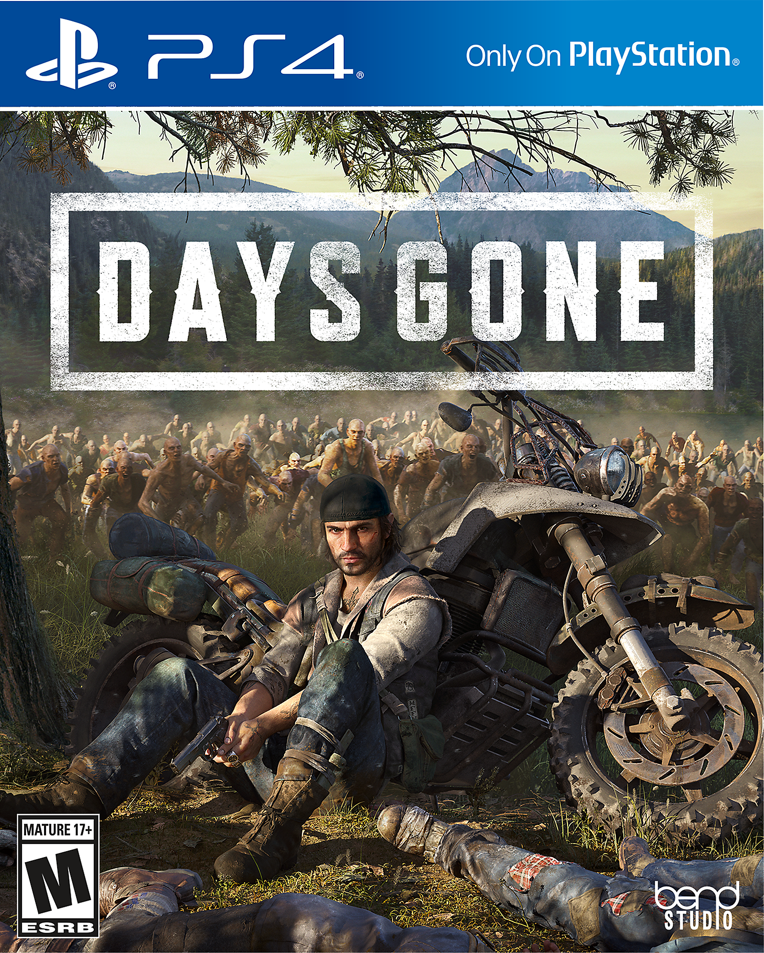Days Gone - Box Art
