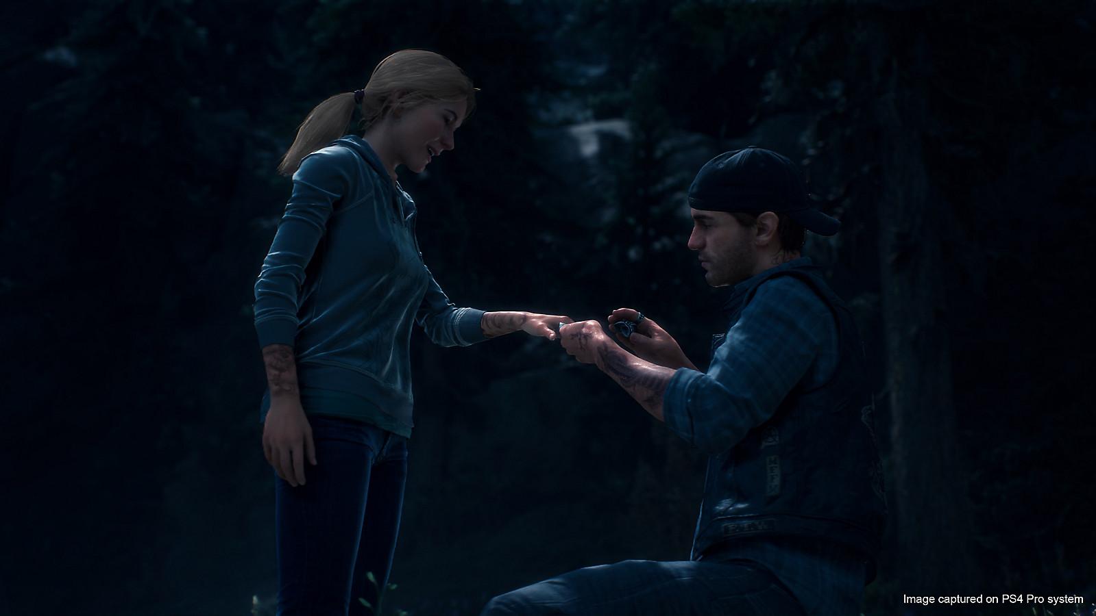 Days Gone | Novas imagens mostram o relacionamento entre Sarah e Deacon