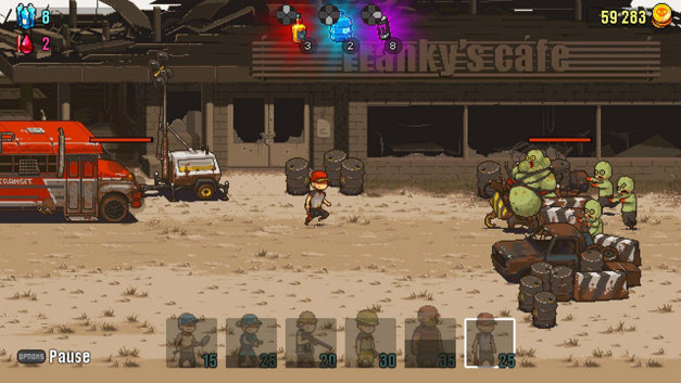 DEAD AHEAD: ZOMBIE WARFARE Screenshot 1