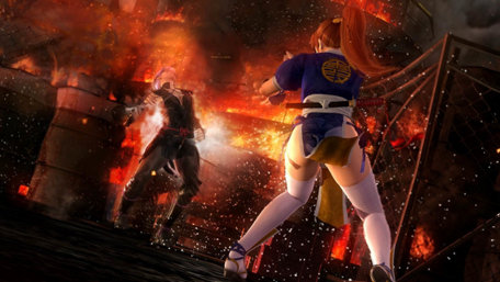 DEAD OR ALIVE 5 Last Round Trailer Screenshot