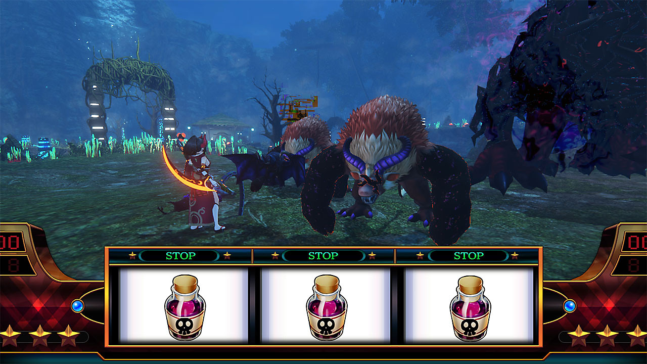 Gameplay de Death end reQuest