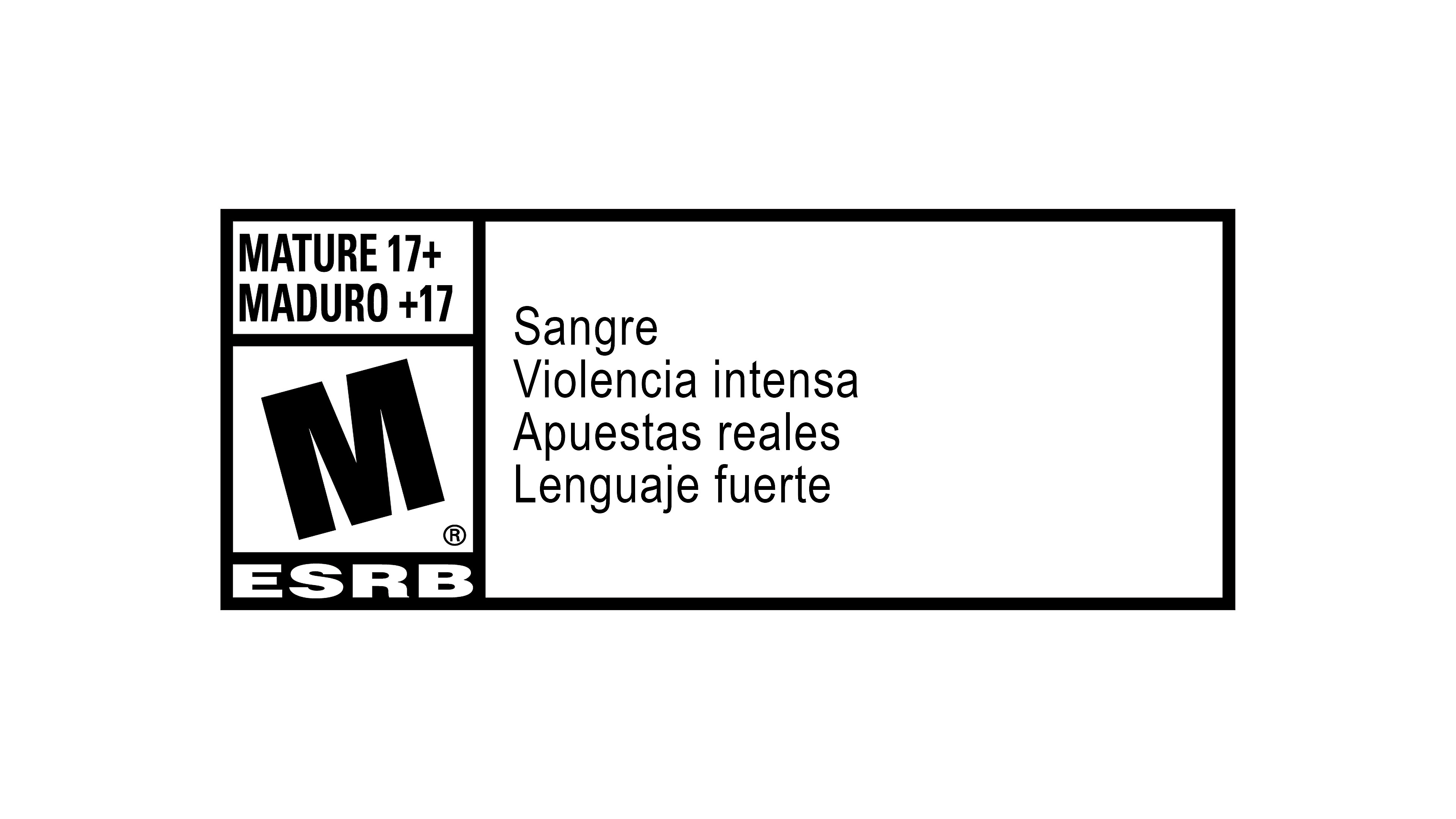 Logotipo de ESRB de Marvel's Spider-Man