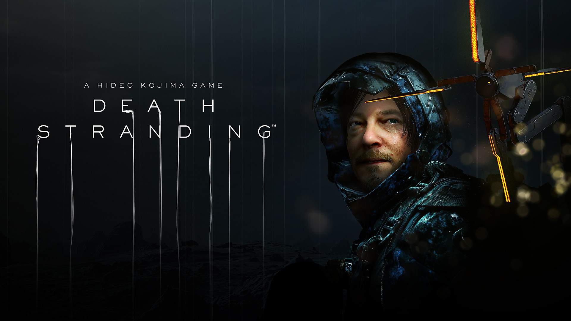 DEATH STRANDING Decorative Background