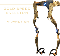 Gold Speed Skeleton Pre-Order Bonus Image