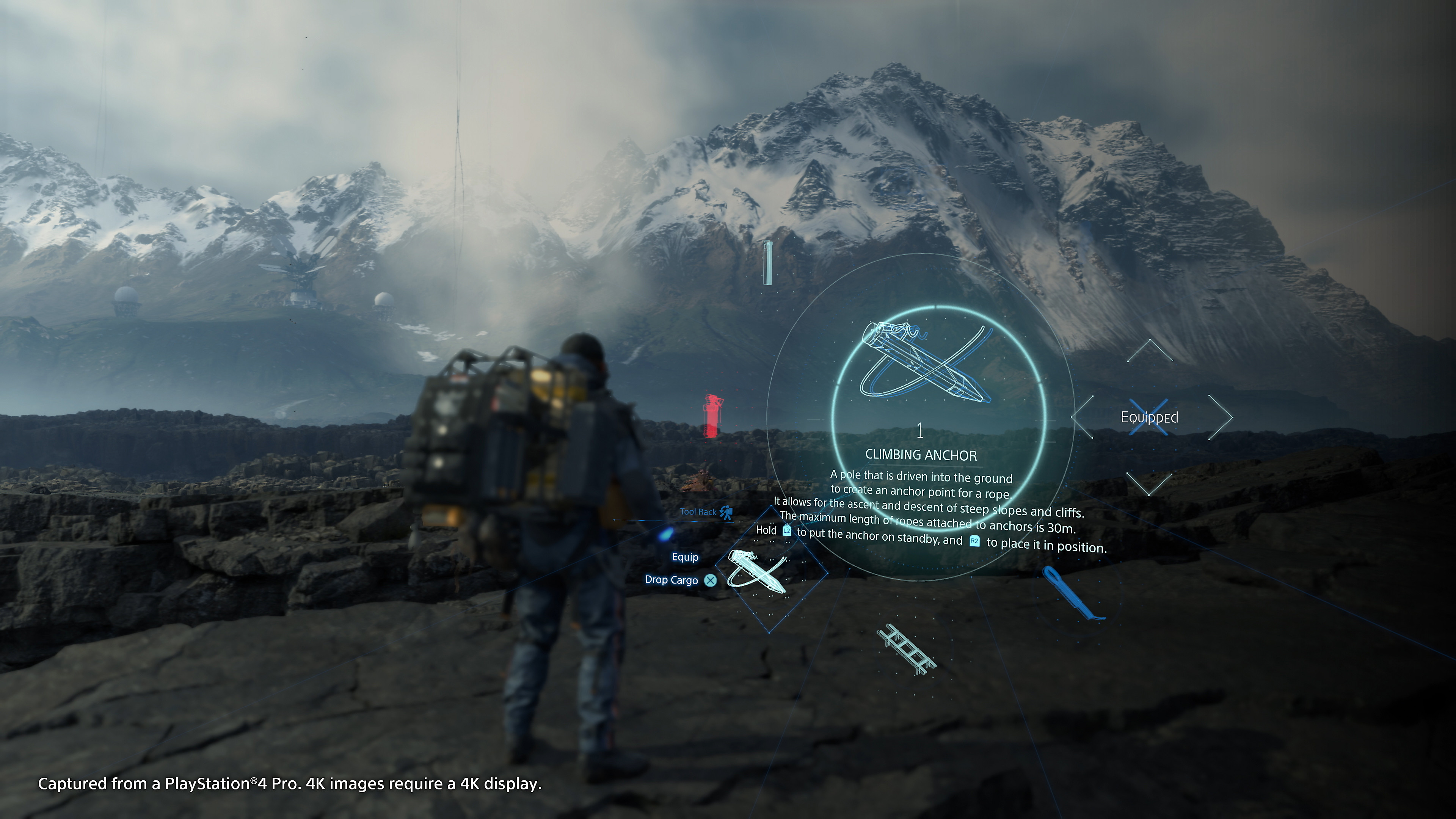 Death Stranding - Screenshot INDEX