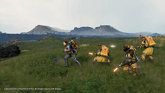 DEATH STRANDING - Screenshot INDEX