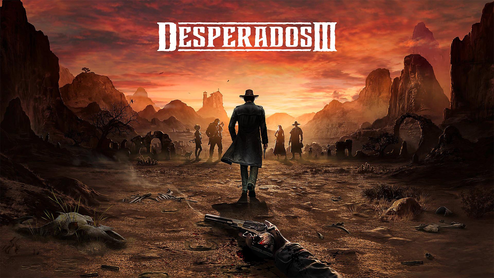 Desperados III(デスペラードス3) Decorative Background