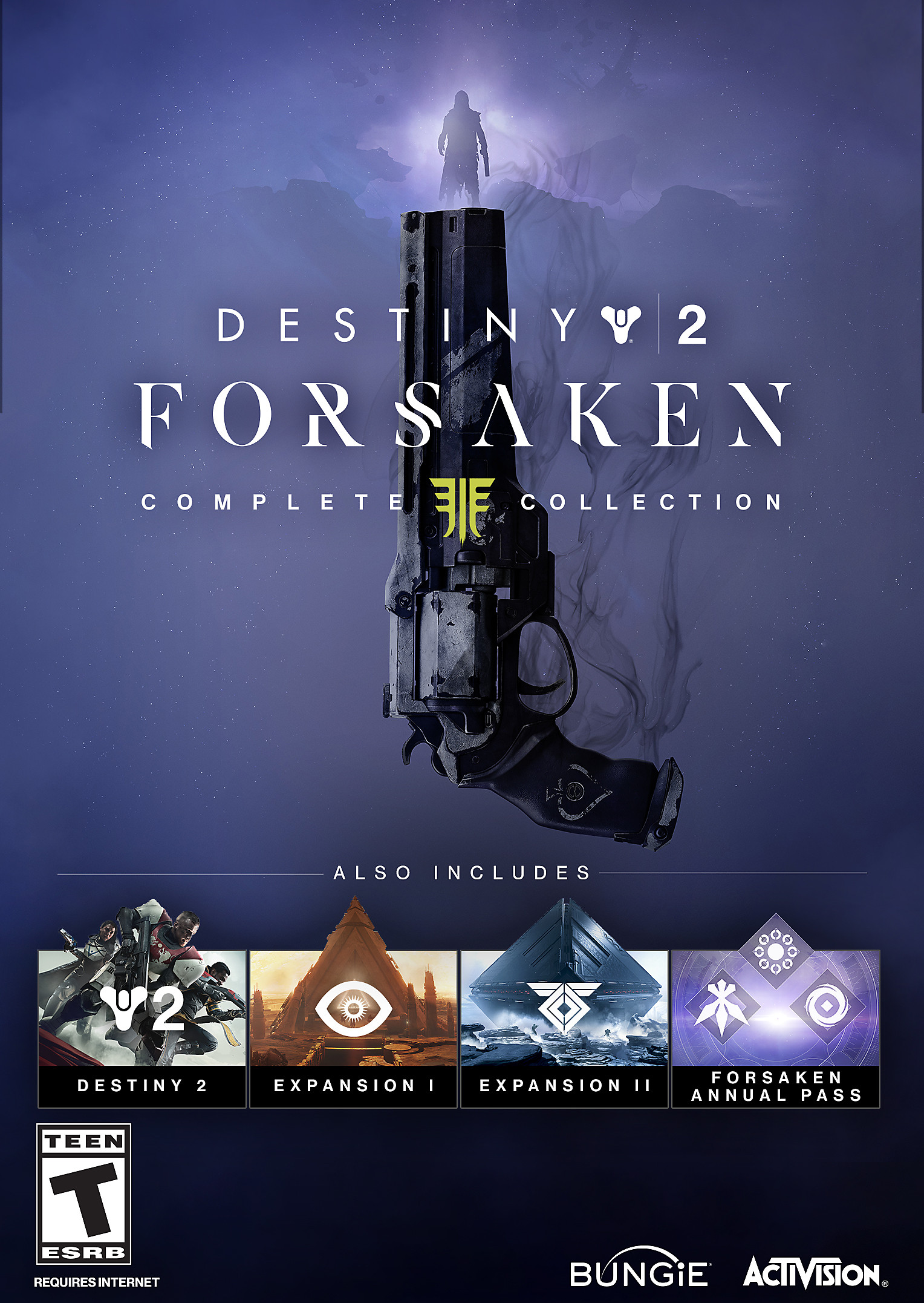 Destiny 2 Forsaken Complete Collection Art